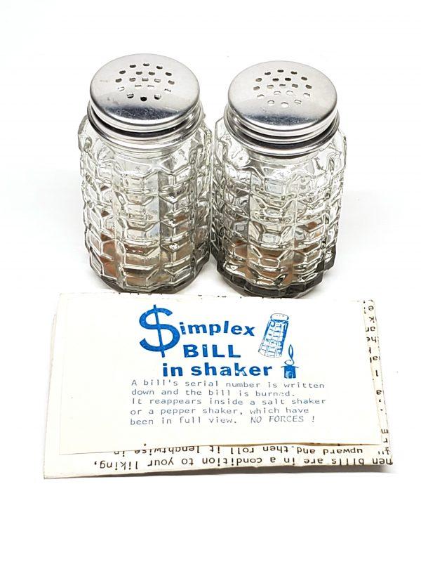 Simplex Bill In Shaker
