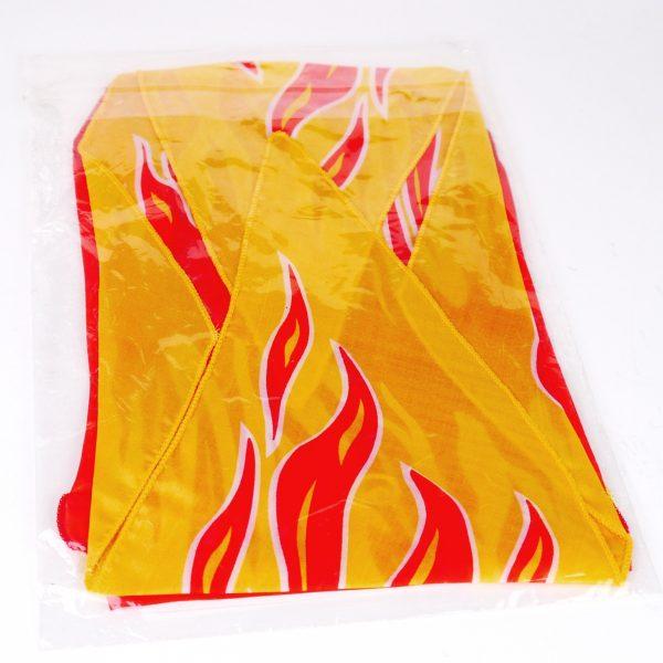 Diamond Cut Flame Silk Set