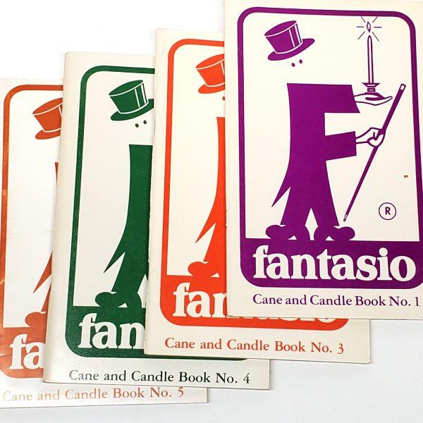 Fantasio Cane & Candle Books Volume 1, 3, 4 And 5