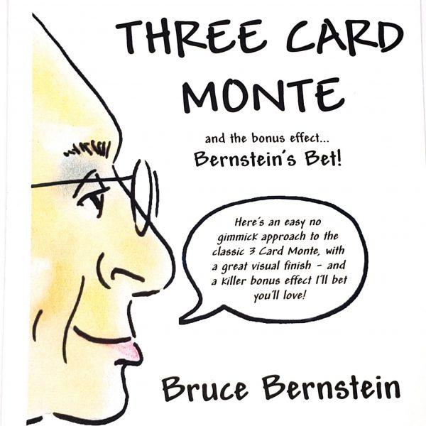 Three Card Monte Bruce Bernstein