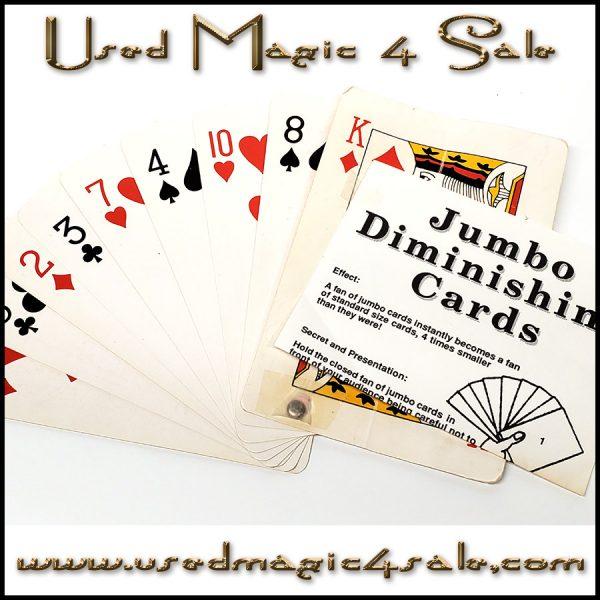 Jumbo Diminishing Cards