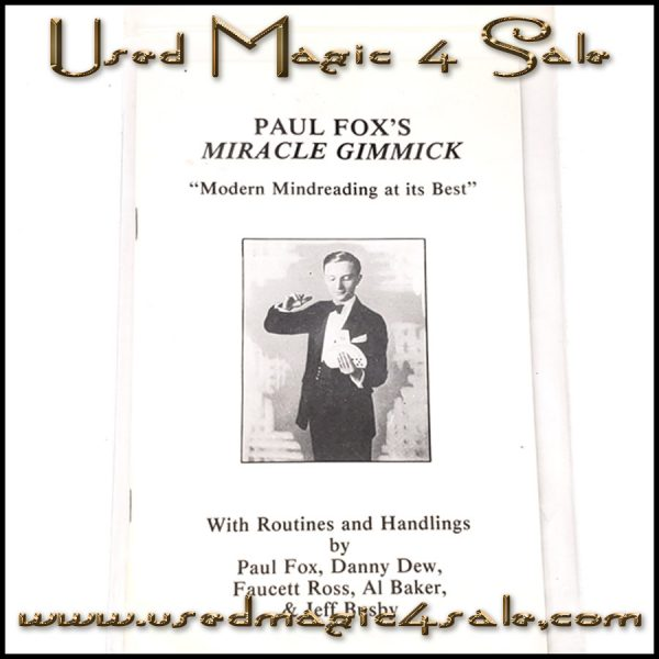 Paul Fox's Miracle Gimmick