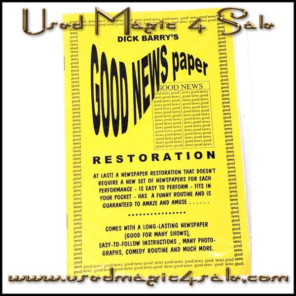 Good Newspaper Restoration-Dick Berry