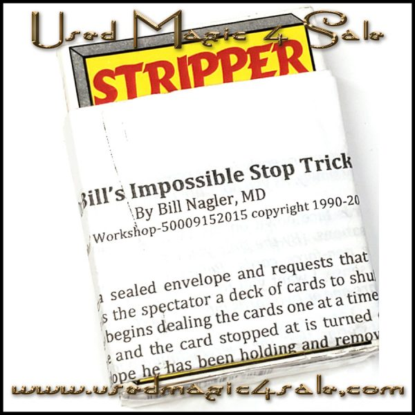Bill's Impossible Stop Trick-Bill Nagler