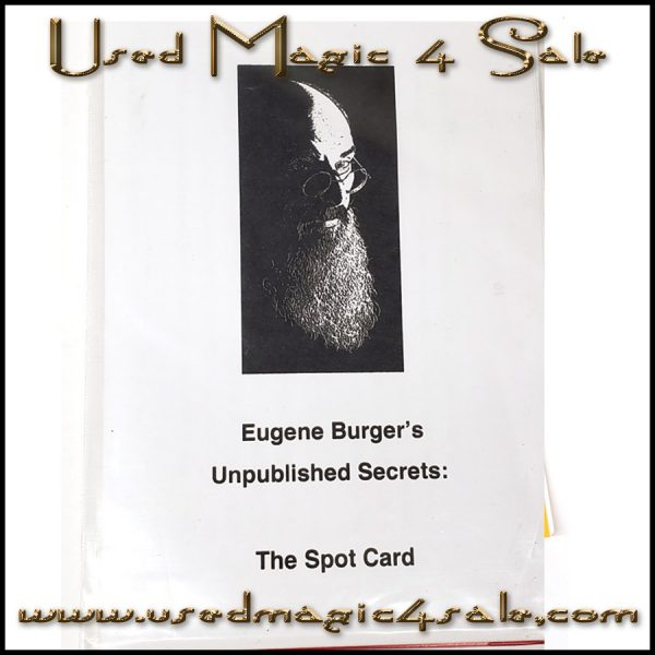 Unpublished Secrets:The Spot Card