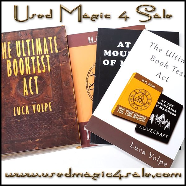 The Ultimate Book Test Act-Luca Volpe