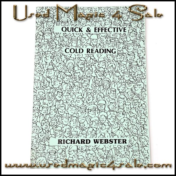 Quick And Effective Cold Reading-Richard Webster
