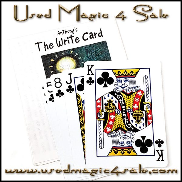 The Right Card-Anthony's