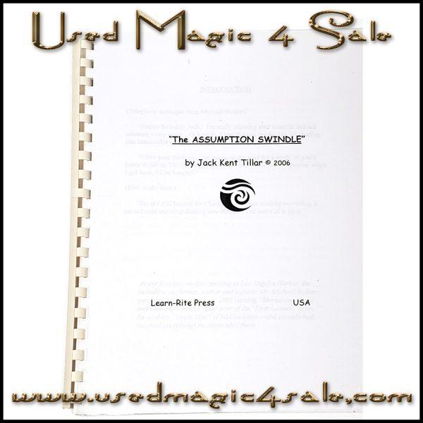 The Assumption Swindle-Jack Kent Tillar