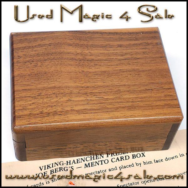 Joe Berg's Mento Card Box-Viking Henchen