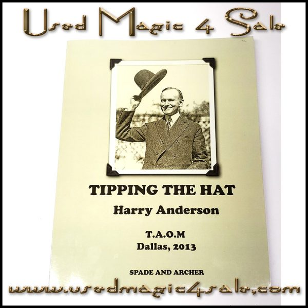 Tipping The Hat-Harry Anderson