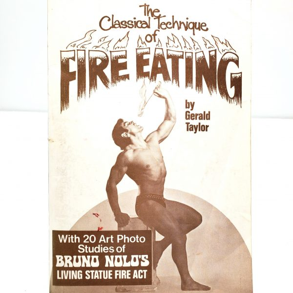 Classic Technique Of Fire Eating Gerald Taylor