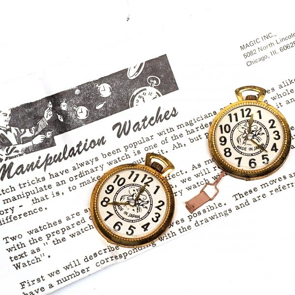 Manipulation Watches-Magic Inc
