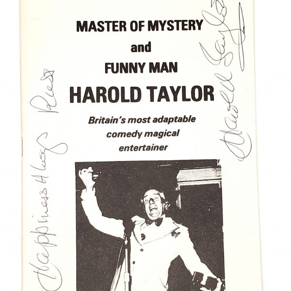 Lecture Notes-Harold Taylor 1982