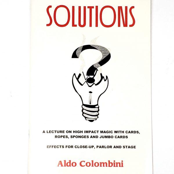 Solutions Aldo Colombini