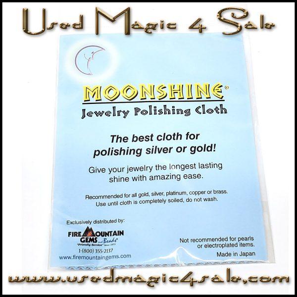 Moonshine Jewelry Polishing Cloth