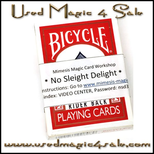 No Sleight Delight-Mimesis Magic Card Workshop