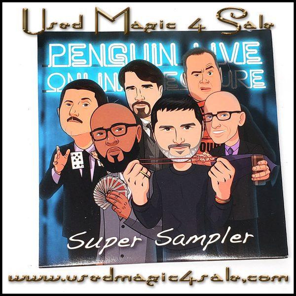 Super Sampler Penguin Live