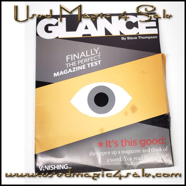Glance-Steve Thompson/Vanishing Inc
