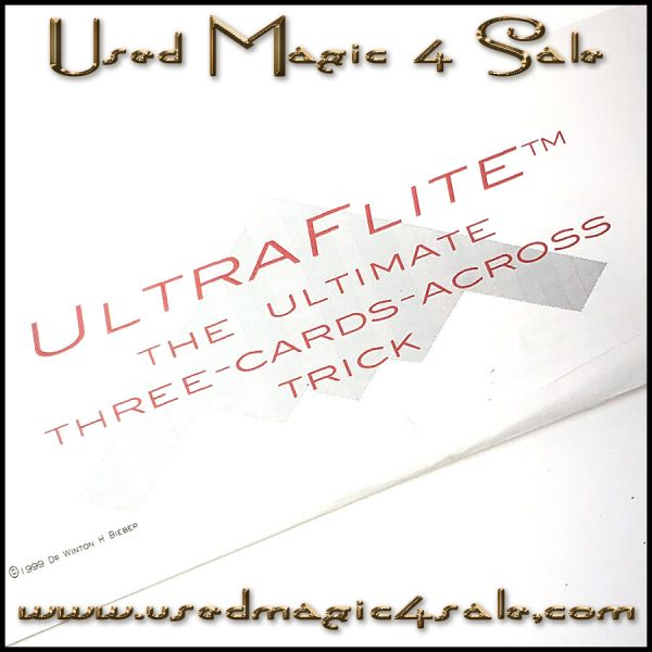UltraFlite Ultimate Three Cards Across