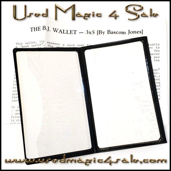The BJ Wallet-Bascom Jones