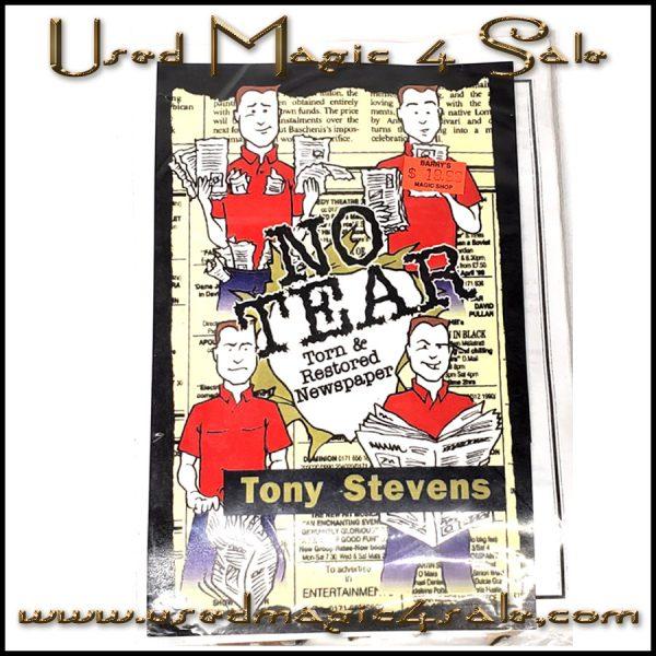 No Tear Torn And Restored Newspaper-Mark Mason