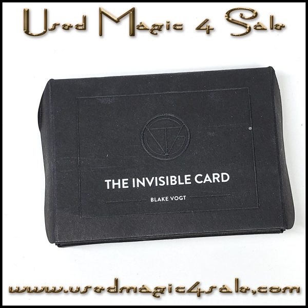 Invisible Card-Blake Vogt