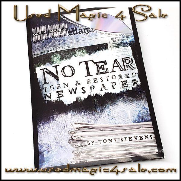 No Tear Torn And Restored Newspaper-Tony Stevens
