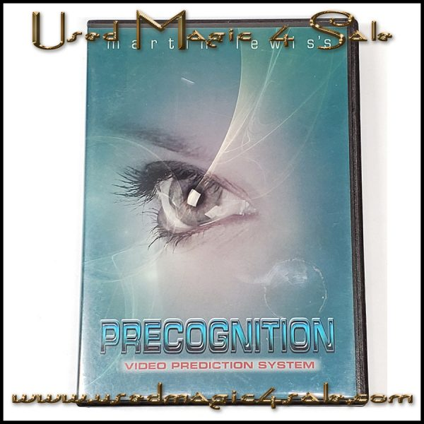 Precognition Video Prediction System-Martin Lewis