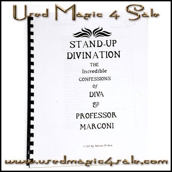 Stand Up Divination-Diva And Professor Marconi