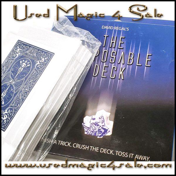 The Disposable Deck-David Regal